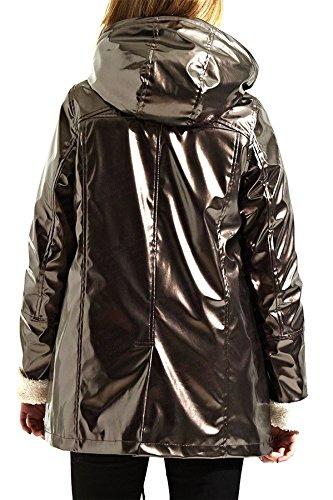 Bronze Blouson Taille Femme Shelikes Unique 0ZXI0q