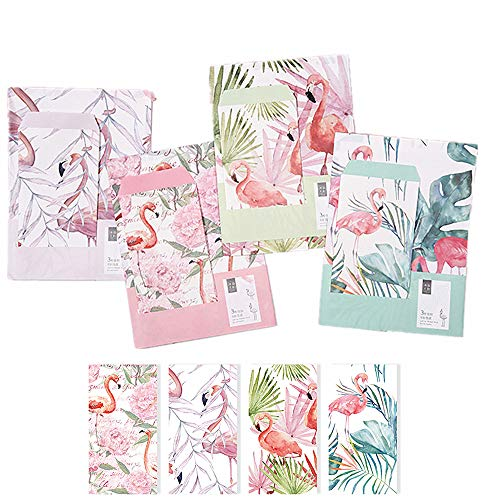 Miss time 32 pcs writing stationery paper letter set with 16 pcs miss time 32 pcs writing stationery paper letter set with 16 pcs envelopes 4 beautiful original design for warm greetings flamingos m4hsunfo