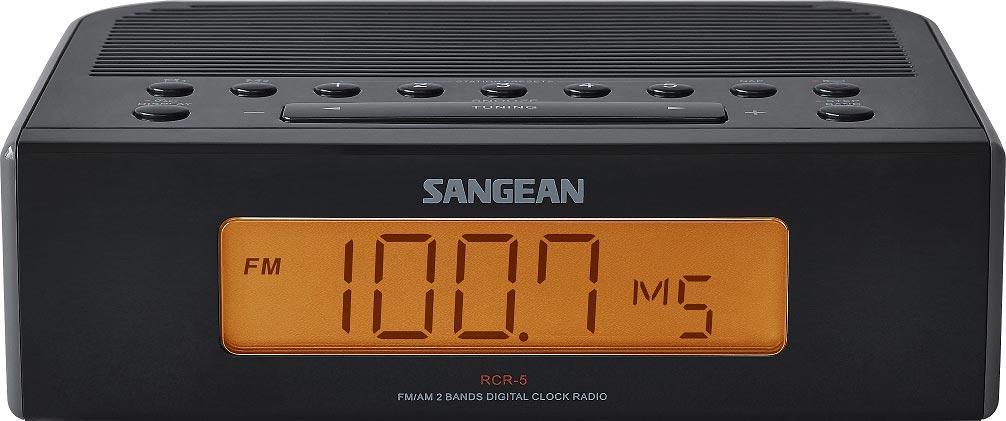 sangean rcr 5 digital am fm clock radio home audio theater. Black Bedroom Furniture Sets. Home Design Ideas