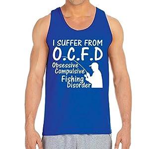 Men's O.C.F.D Royal Blue Tank Top (XX Large)