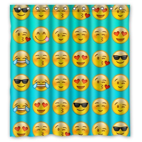 Emojicons Children Curtains Drapes