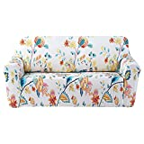 FORCHEER Pattern Loveseat Slipcover Stretch Couch Covers Furniture Protector for Pet Pams (Printed #4,Loveseat)