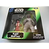 Star Wars The Power of the Force Actionfigur Kabe and Muftak