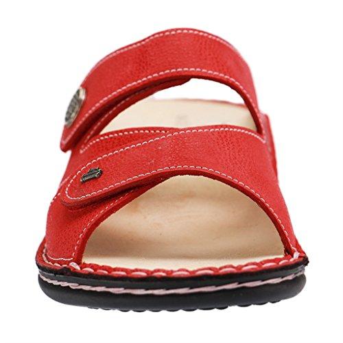 Comfort donna Zoccoli rosso rosso Rosso Finn Rosso pRSnfqxw