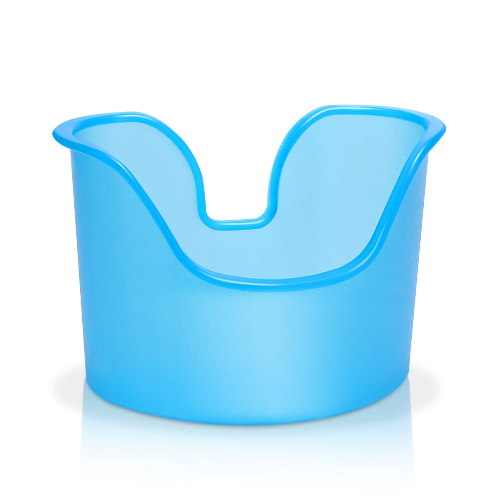 MIGLEO Ear Wash Basin, Wax Removal Basin Compatible with All Types of Ear Wash Systems