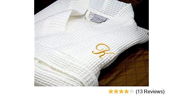 41349e5bb1 Luxor Linens - Waffle Weave Spa Bathrobe - Ciragan Collection - Luxurious