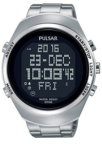 Pulsar Pulsar X PQ2055X1 Digital watch for men Solid Case
