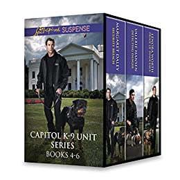 Download PDF Capitol K-9 Unit Series Books 4-6 - Security Breach\Detecting Danger\Proof of Innocence