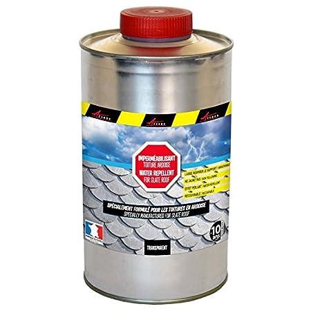 IMPER ARDOISE - Impermé abilisant pour toiture en ardoise hydrofuge incolore - Liquide- Transparent, 20L (jusqu a 100m² ) 20L (jusqu a 100m²) ARCANE INDUSTRIES