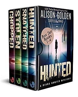 The Diana Hunter Series Box Set 1: Books 1-4 (The Diana Hunter Series Boxset) by [Golden, Alison, Zinnas, Gabriella]