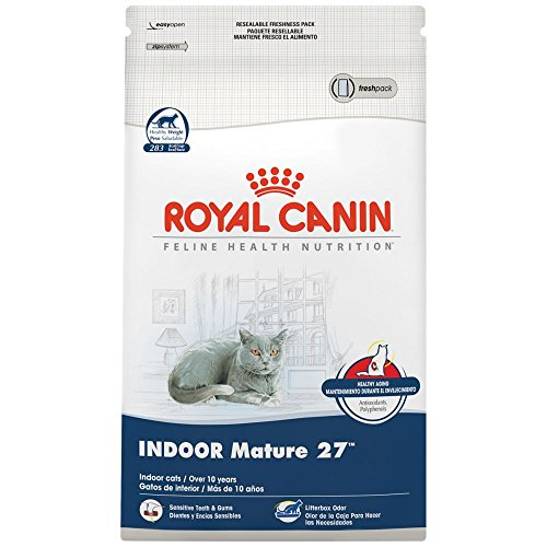 ROYAL CANIN FELINE HEALTH NUTRITION Indoor Mature 27 dry cat food 51JJjjWUReL