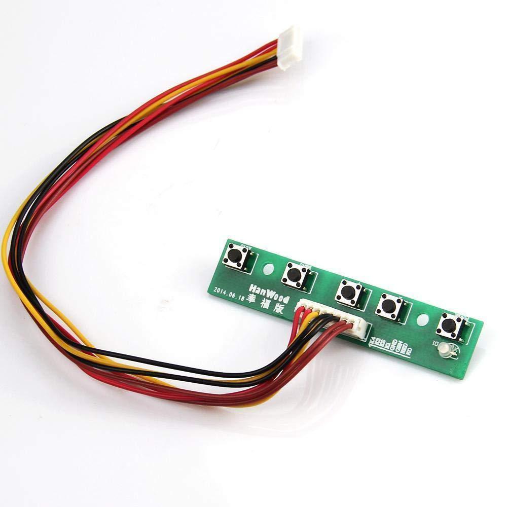 "LCD LED controller board kit HDMI VGA CVBS for LTN133AT28 701 L01 1366X768 13.3/"""