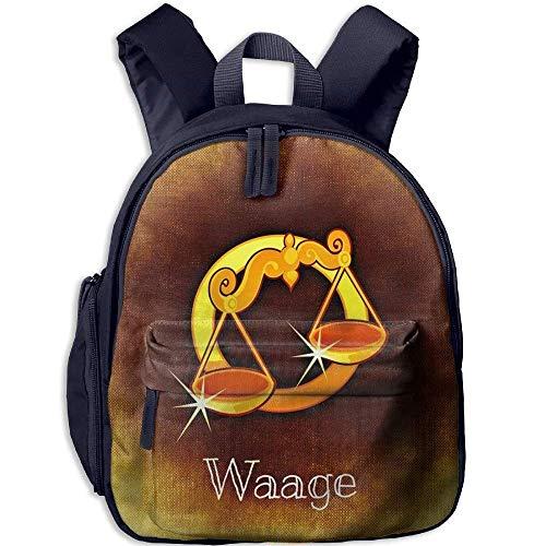 Ikejsne Funny Schoolbag Backpack Goldden Waage Toddler for sale  Delivered anywhere in USA
