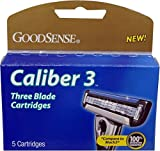 Good Sense Caliber-3 Triple Blade Cartridges, 5 Count - Case of 36