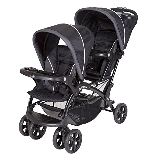 Baby Trend Sit and Stand Double Stroller, Onyx by Baby Trend