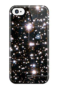 Iphone 4/4s Hard Back With Bumper Silicone Gel Tpu Case Cover Planets Outside Our Solar System