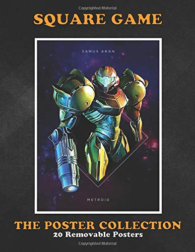 Poster Collection: Square Game Square Samus Aran Metroid ...