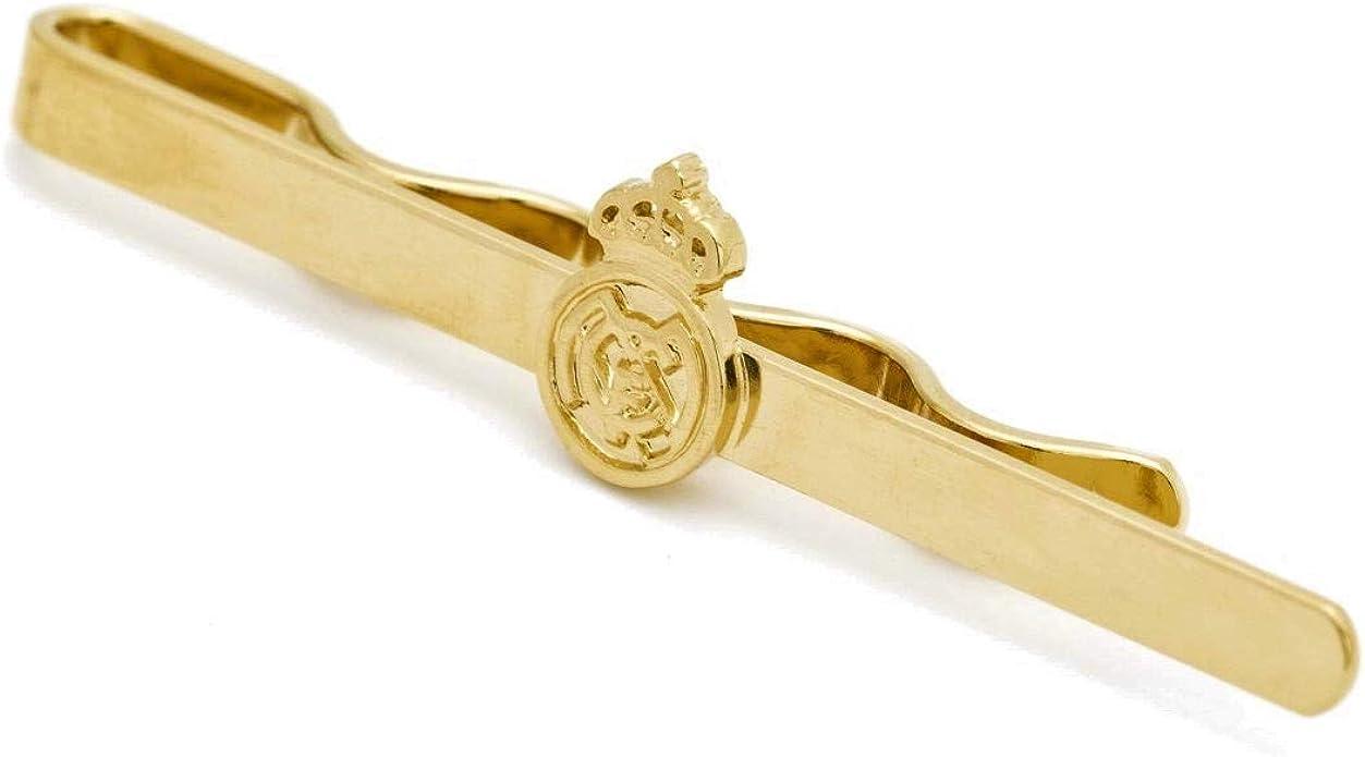 ART3 Pisacorbatas Escudo Real Madrid (Oro Amarillo): Amazon.es: Joyería