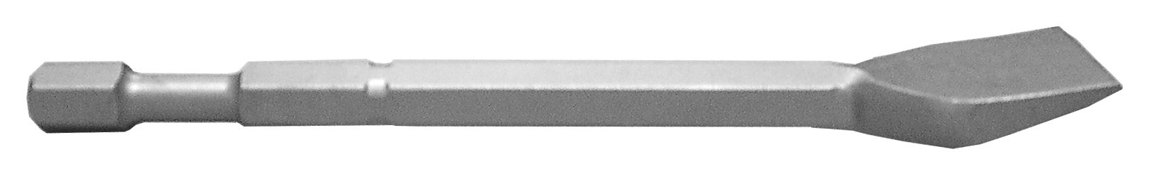 Champion Chisel, 3/4-Inch Hex Demo Shank, 12-Inch Long, 3-Inch Wide Bent Chisel, Single Bevel