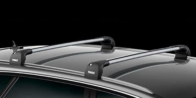 Alluminio Thule 9595B Wingbar Edge Fixpoint//Flushrail S//M