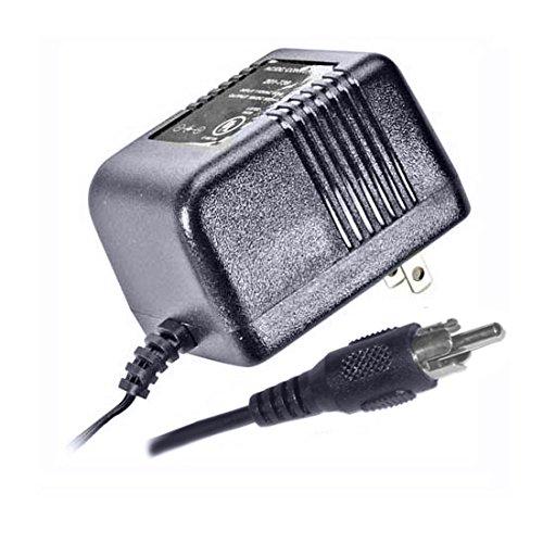 Power Supply Adapter Transformer 18 VDC Output 120 VAC Input 35 Watt RCA Plug Connector 60 Hz 600 mA Output Power Supply 120 VAC 35 Watt VDC 18V Multi-Switch