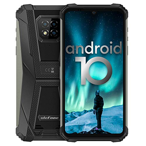 Écran 6,1 Pouces 4Go+64Go Octa-Core Telephone Portable 4G, Ulefone Armor 8 Smartphone Incassable Androud 10 5580 mAh… 1
