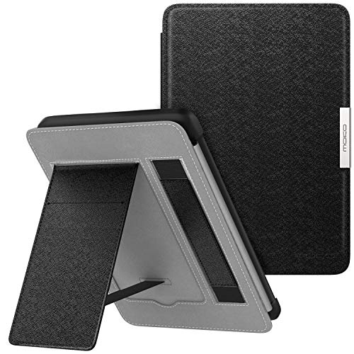 MoKo Case for Kindle Paperwhite, Premium Lightest PU Leather PC Hard Shell Smart Stand Cover with Auto Wake/Sleep for Amazon Kindle Paperwhite (Fits 2012, 2013, 2015, 2016 Version)
