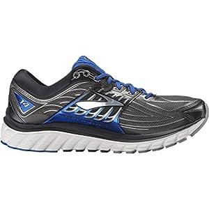 Brooks Men's Glycerin 14 Anthracite/Electric Brooks Blue/Silver Sneaker 8.5 D (M)