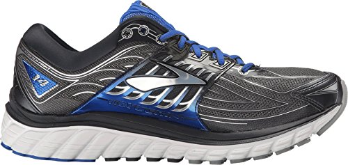 Brooks Herren Glycerin 14 Anthrazit / Electric Brooks Blau / Silber