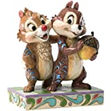 Enesco Disney Traditions by Jim Shore Chip and Dale Figurine, 4.5-Inch