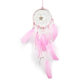 Boho Floral Dream Catcher Children Nursery Table Lamp Night Light Touch Lamp