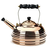 Simplex Beehive 1.7 Quart Tea Kettle, Copper