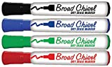 Board Dudes SRX Dry Erase Markers Broad Tip 4-Pack Assorted Colors (CXY30)