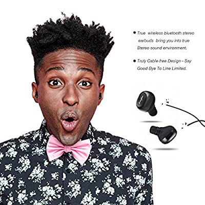 LiteXim Truely Wireless Earphones, No Dropping, Smart Charging case, High Fidelity Quality 3D Stereo Surrounding Sound, Dynamic Noise Reduction, Ultra Weight Design, Professional's Choic