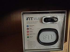 iFit Vue Fitness Activity Tracker, Black/Asphalt