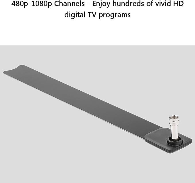 Clear TV Key - Antena de interior digital (480 p-1080 p, HD, 100 unidades, con canales de televisión gratuitos)