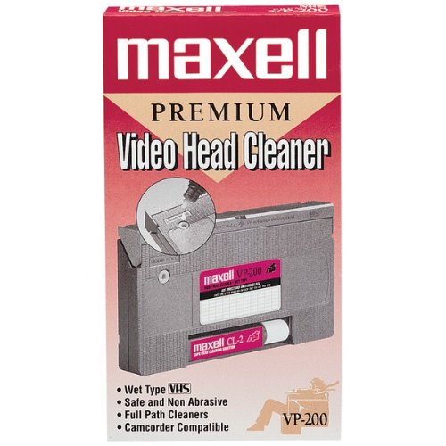 Maxell Video Head Cleaner Product Category: Care & Cleaning/Vhs Care & Cleaning by Original Equipment Manufacture