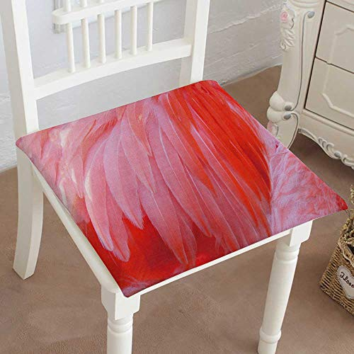 Mikihome Indoor/Outdoor All Weather Chair Pads Bright red Flamo Birds Seat Cushions Garden Patio Home Chair Cushions 14