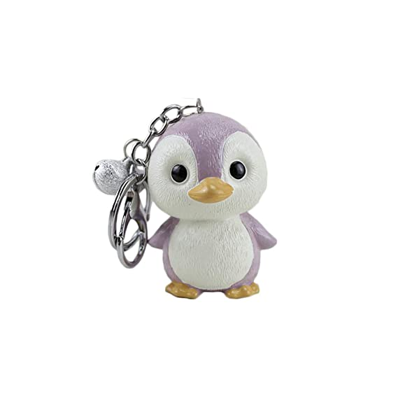 Pingüino Resina 3D Tortuga Llavero Llavero Llavero Recuerdo ...