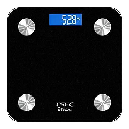 zstmei báscula de baño digital bluetooth grasa corporal báscula peso escala hidratación medida Monitor analizador de