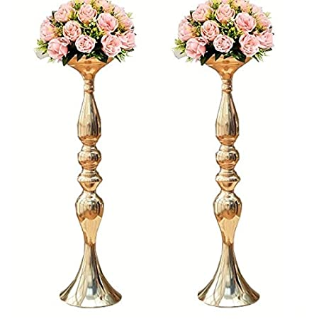 Sziqiqi 2pcsset 50cm height metal candle holder candle stand sziqiqi 2pcsset 50cm height metal candle holder candle stand wedding centerpiece event road lead junglespirit Images