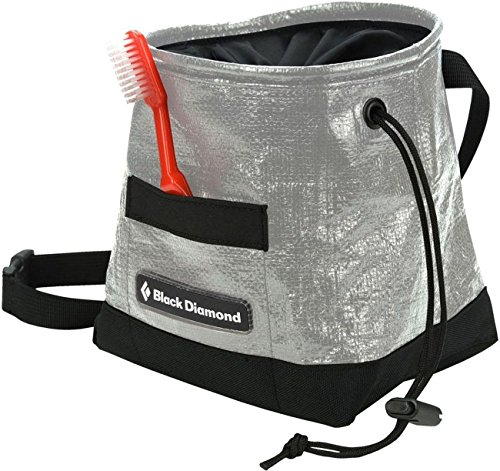 Black Diamond Gorilla Chalk Bag, Black/Silver