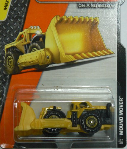 Matchbox - MBX Construction - Mound Mover 107/120 - Mbx Mover