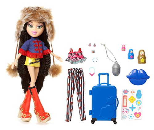 Bratz Study Abroad Doll- Jade to - Case Bratz Makeup