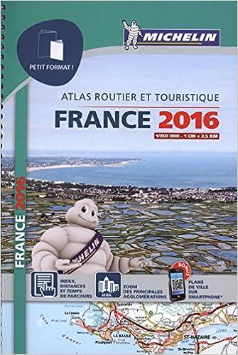 Lire Atlas France 2016 Petit Format Michelin pdf