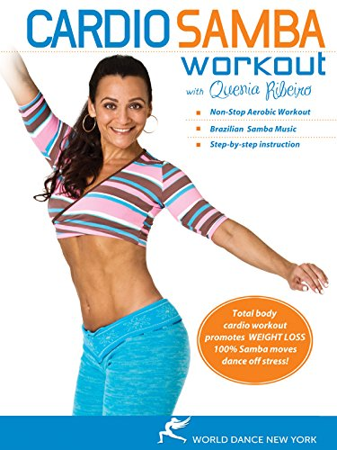 Exercise Products : The Cardio Samba Workout with Quenia Ribeiro