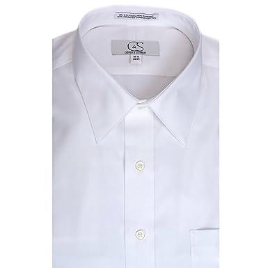 COOPER /& STEWART Big /& Tall Non-Iron Pinpoint Spread Collar Dress Shirt