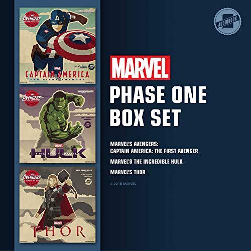 Marvel's Phase One Box Set: Marvel's Avengers Phase One: Captain America: The First Avenger; Marvel's Avengers Phase One: The Incredible Hulk; Marvel's Avengers Phase One: Thor