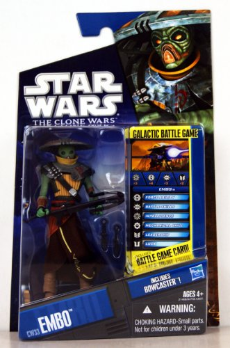 Star Wars,The Clone Wars 2010 Series Action Figure, Embo #CW33, 3.75 Inches ()