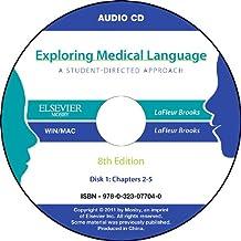 Audio CDs for Exploring Medical Language, 8e